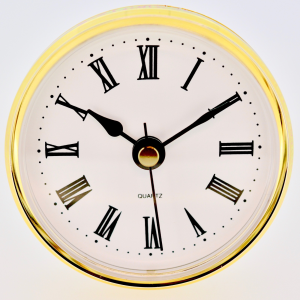 F70 White Roman Fit up clock|F70 White Roman Fit up clock