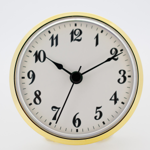 85mm White Arabic Insert Fit up Clock|85mm White Arabic Insert Fit up Clock