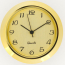 37mm mini clock gold |37mm mini clock gold