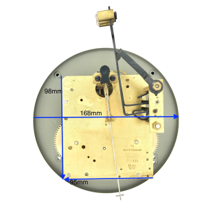 Davis/ Hermle 151 020 wall clock movement|Davis/ Hermle 151 020 wall clock movement