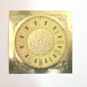 Let S Make Time Square Gold Roman Dial 190mm