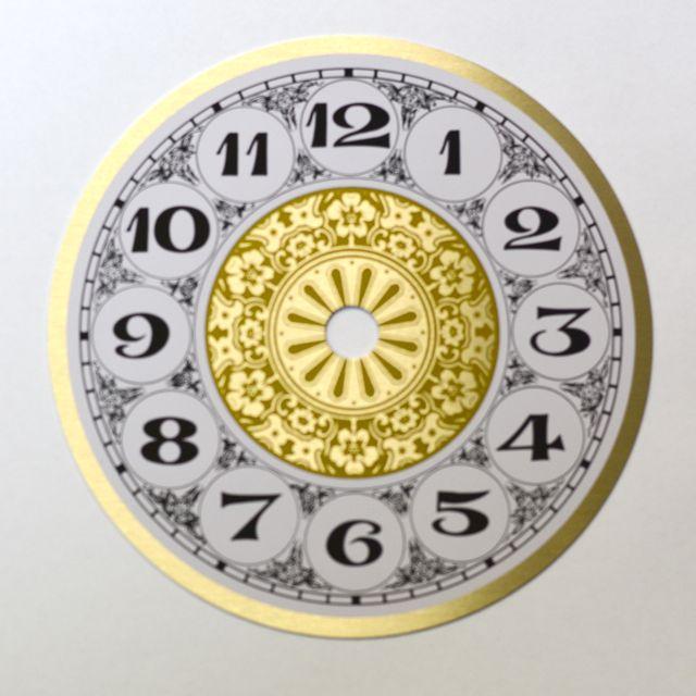 Let S Make Time Fancy Arabic Clock Dial 200mm