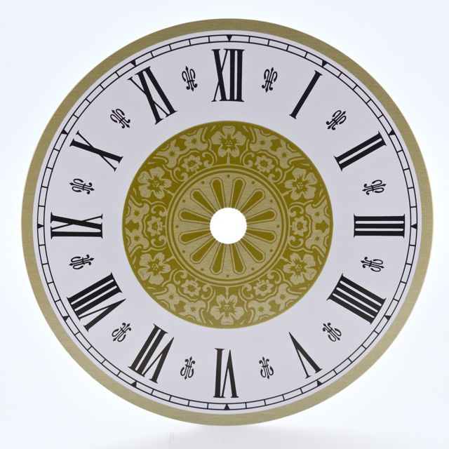 Let S Make Time Fancy Roman Clock Dial 150mm 200mm