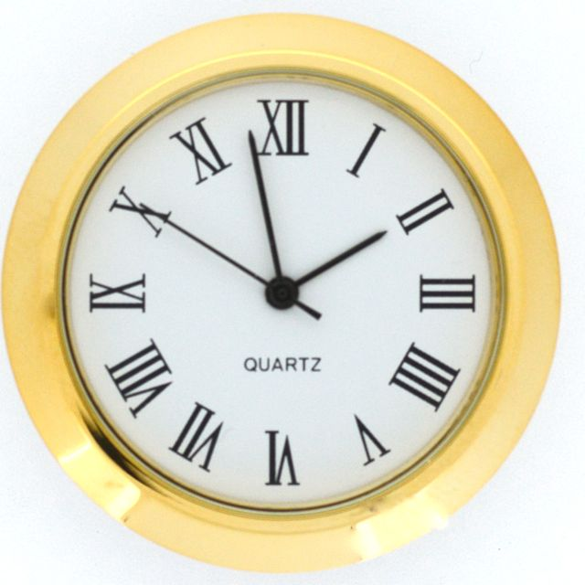 Let S Make Time 50mm Insert Fit Up Clocks F50 Assorted