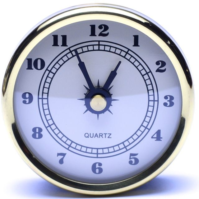 Let S Make Time 60mm Fit Up Clocks F60wa