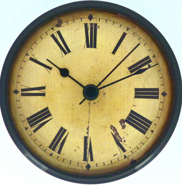 Let S Make Time 85mm Insert Fit Up Clocks Vintage F85vr